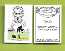 Doncaster Rovers Tommy Martin 10 (FC)